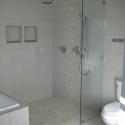Euorpean style walk-in shower