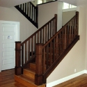 Oak Stair Case Details