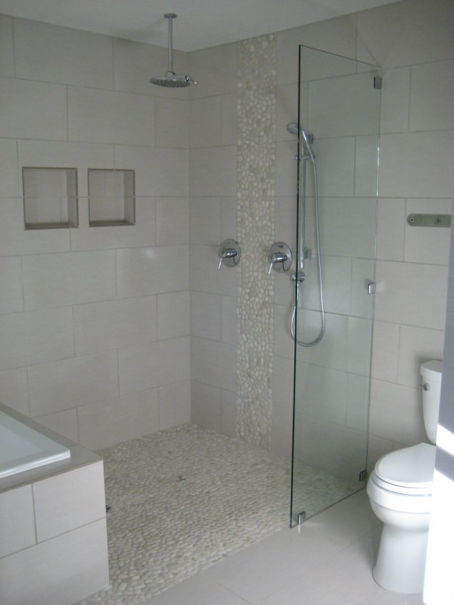 Euorpean style walk-in shower